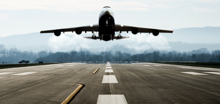 vliegtuig vertrek