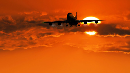vlieg tuig landing