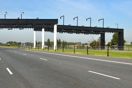 Electronic toll collection gate