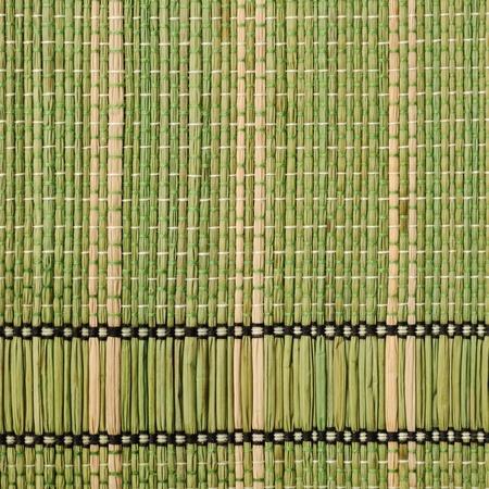 placemat: Texture del tappeto tradizionale tabella di paglia legato bamb�