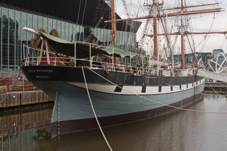 polly: Polly Woodside tall ship became museum ship after restoration  and very popular attraction in Melbourne, Victoria, Australia