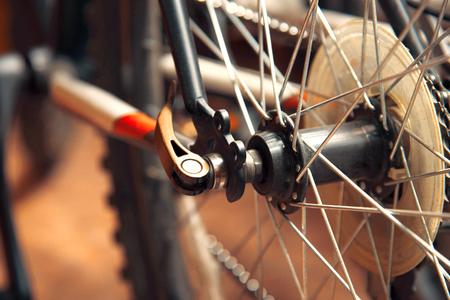 Mountain bike wheel parts