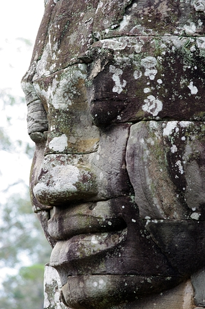 thom: angkor thom Stock Photo