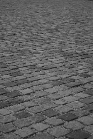 cobble: stone way path stone background road walk Stock Photo