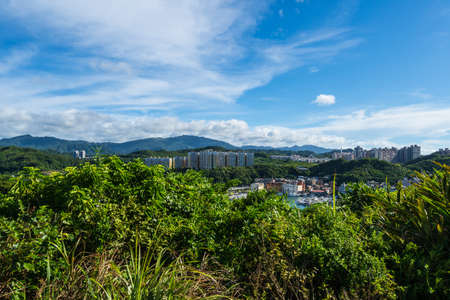 This is a part of Wangyougu in Keelung City of Taiwan.