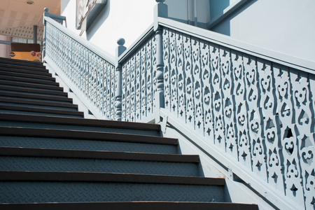 perforated: Staircase wood perforated design