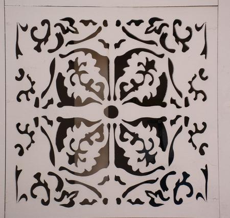 perforated: wood perforated design