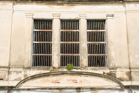 moldy: Moldy window vintage style Stock Photo