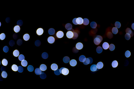 Abstract colourful of bokeh festive background