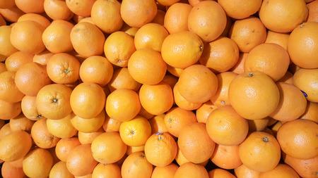Fresh mandarin oranges selective focus, use for background.