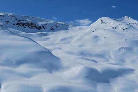 catena: Montagne innevate Stock Photo