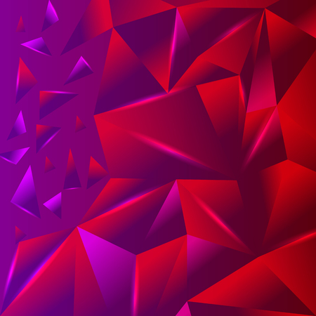 coloured background: Abstract triangle geometric vector background Illustration