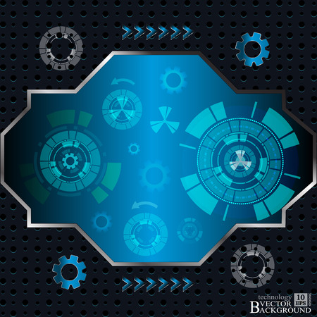 digital background: Digital Abstract technology background