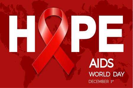 World AIDS Day banner design.