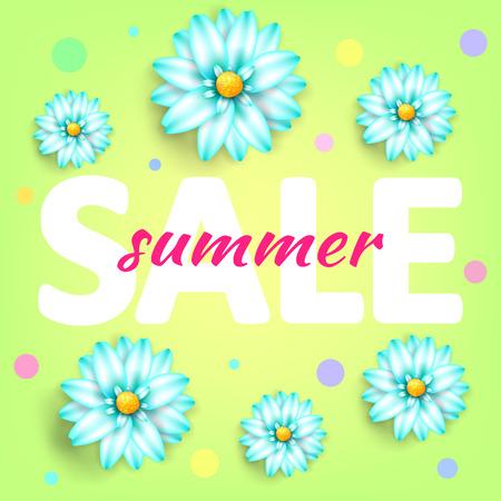Summer sale background layout banners.Voucher discount.Vector illustration template. Illustration