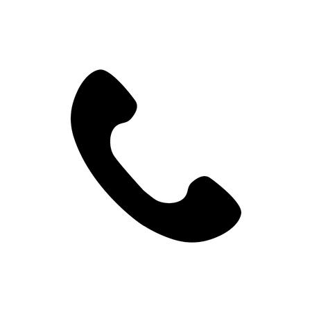 Phone icon flat style. vector illustration
