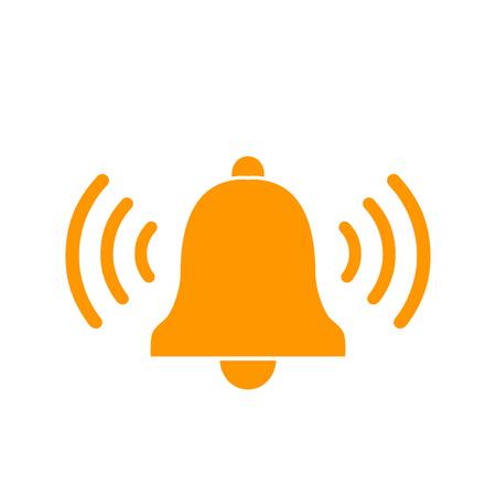 Icono lineal de campana. Vector