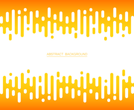 Abstract of fresh yellow color stripe lines pattern background, vector illustrator