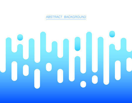 Abstract blue color stripe lines. Vector illustration