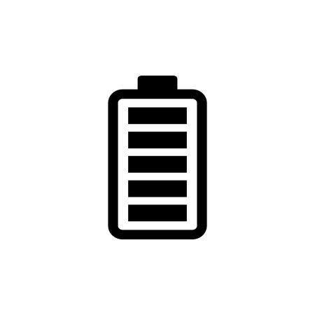 Full battery icon vector illustration  イラスト・ベクター素材