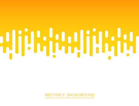 Abstract of fresh yellow color stripe lines pattern background, vector illustration Illustration