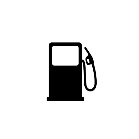 Fuel refill symbol. Vector illustration