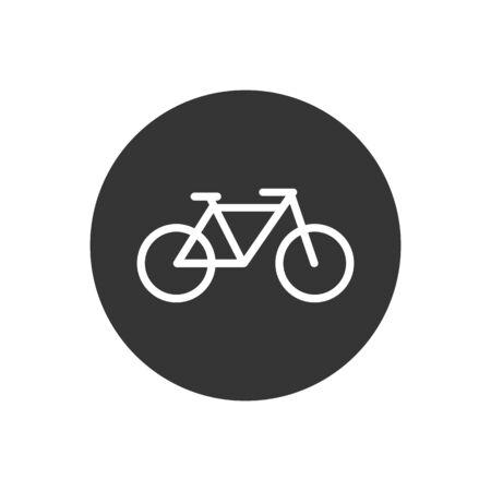 Bicycle icon. Bike icon vector. Vector illustration