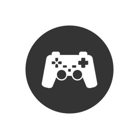 Game controller icon. Vector illustration Ilustracja