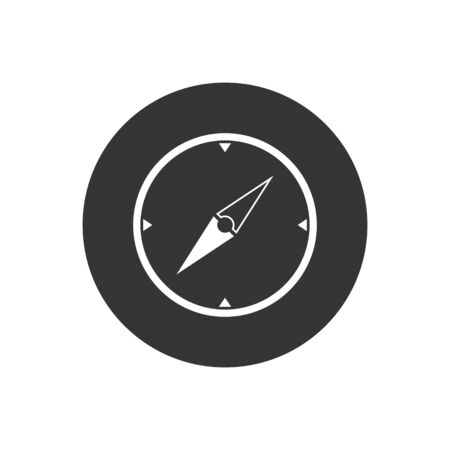 Vector compass icon. Vector web design