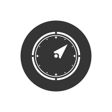 Vector compass icon. Vector web design