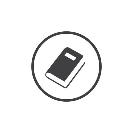 Book, Stationery Education Icon Vector in flat style Ilustracja