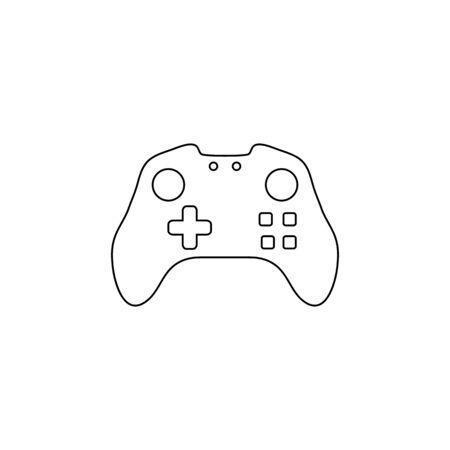 Joystick line icon vector illustration Ilustração