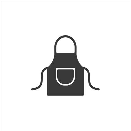 Apron icon vector sign and symbol on trendy design 向量圖像