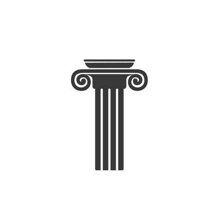 Column Logo vector Template design illustration icon Ilustração