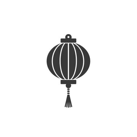 Chinese lantern festival vector icon for apps and websites