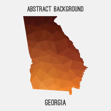 Atlanta Map Stock Photos Pictures Royalty Free Atlanta Map - Modern map of georgia us