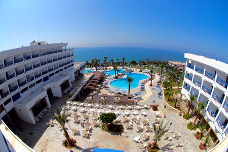 Sea-side hotel territory