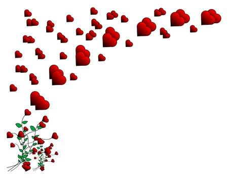 Vector Valentine heart design Illustration