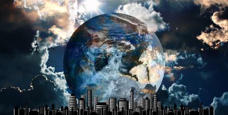 abyss: Futuristic cityscape