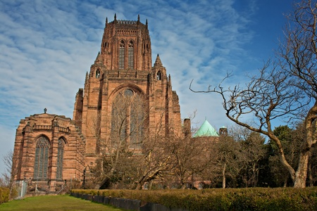 Liverpool Anglican Cathedral, Grade 1 listed building,