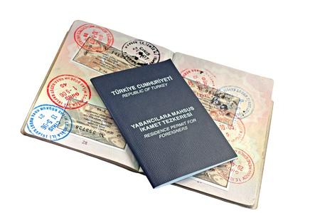 UK passport with Turkish visitor visa