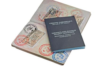 migrant: UK passport with Turkish visitor visa