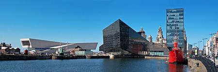 Panoramic View of Liverpool Stock Photo - 27928891
