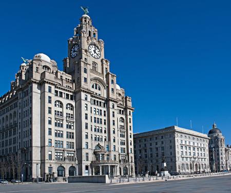 Liverpool status waterfront buildings  photo