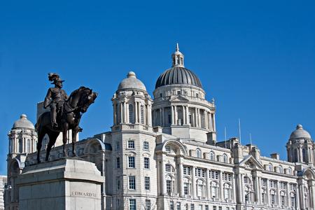 liverpool: Liverpool status waterfront buildings