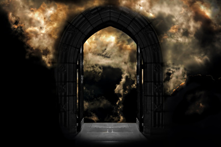 heaven and hell: Doorway to Heaven or Hell