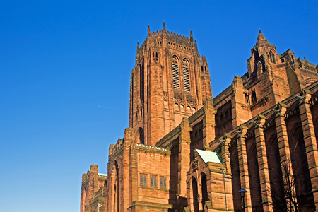 st jamess: Liverpool Cathedral built on St Jamess Mount in Liverpool ranks as the fifth-largest cathedral in the world, Grade 1 listed building