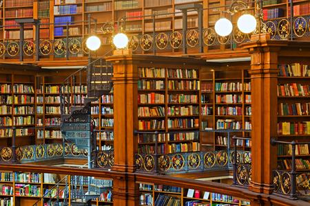 LIVERPOOL 16 de enero de 2016. Picton sala de lectura en el interior Biblioteca Central de Liverpool. LIVERPOOL Reino Unido Editorial