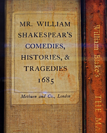 histories: LIVERPOOL 25TH JANUARY 2016. Mr William Shakespears Comedies, Histories and Tragedies a very rare and valuable book