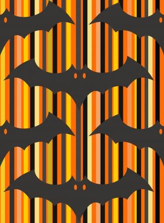 halloween bat seamless background